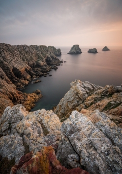 stillness at the end of the world - brittany france