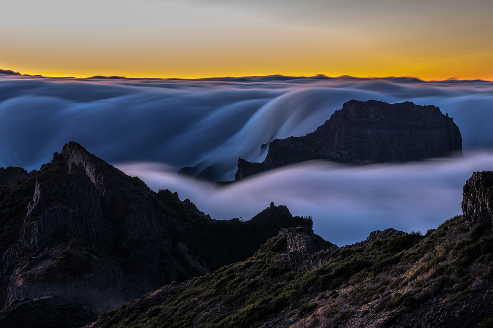 fog falls