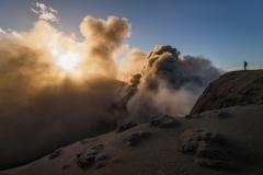 eye of the volcano