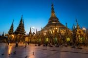 shwedagon dawn