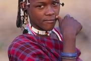 young maasai morani, tanzania