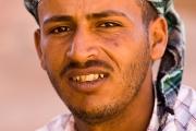 young bedouin man, jordan