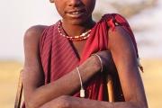 maasai boy, tanzania