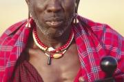 maasai elder, tanzania