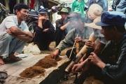 smoking - mountains of north vietnam