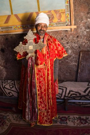holder of the key - lalibela