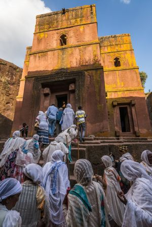 rush hour - lalibela