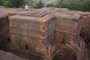 quiet morning - lalibela