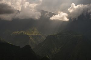 light and shadow - simien mountains