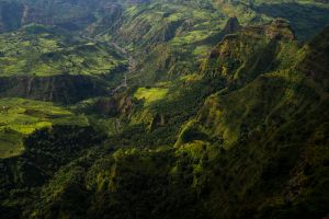 after the rains - simien mountains