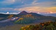 volcano dawn