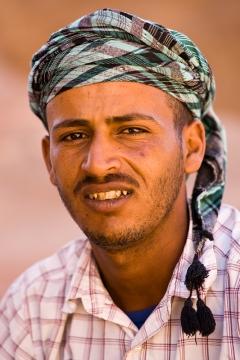 young bedouin man