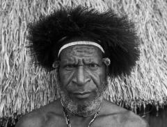 dani elder, west papua